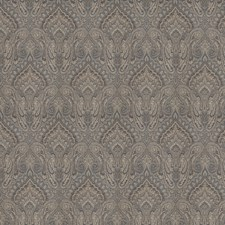 Navy Jacquard Pattern Decorator Fabric by Fabricut