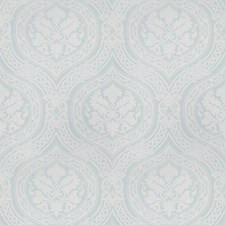 Aqua Print Pattern Decorator Fabric by Vervain