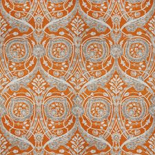 Cantaloupe Print Pattern Decorator Fabric by Vervain
