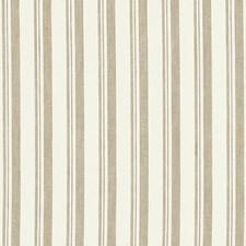 Beige/White Decorator Fabric by Schumacher