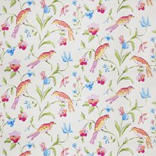 Multi Bright Animal Decorator Fabric by Stroheim