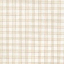 Coconut Check Decorator Fabric by Trend