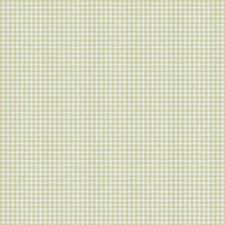 Lime Green Check Decorator Fabric by Trend
