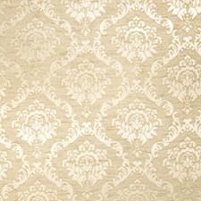 Champagne Damask Decorator Fabric by Trend
