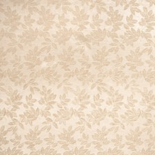 Beige Leaves Decorator Fabric by Trend