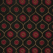 Berry Embroidery Decorator Fabric by Trend