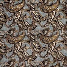 Spa Paisley Decorator Fabric by Trend