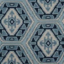 Blue Decorator Fabric by B. Berger