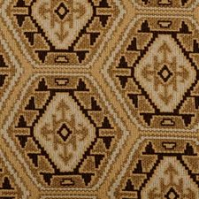 Black/Gold Ethnic Decorator Fabric by B. Berger