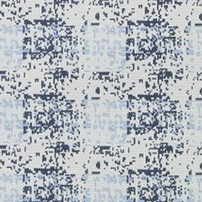 Natural/Blue Abstract Decorator Fabric by Duralee