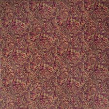 Wild Berry Paisley Decorator Fabric by Trend