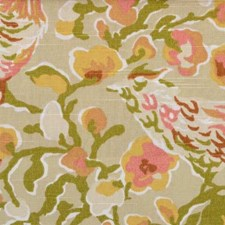 Olive/gold Decorator Fabric by B. Berger