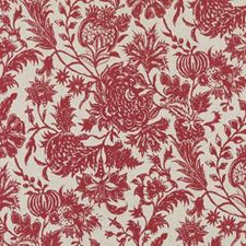 Red Decorator Fabric by Duralee