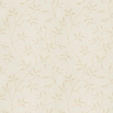 Cream Jacquard Pattern Decorator Fabric by Trend