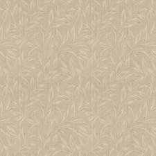 Raffia Leaves Decorator Fabric by Trend