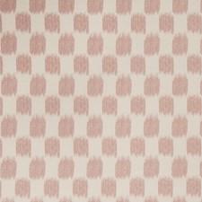 Blush Flamestitch Decorator Fabric by Trend