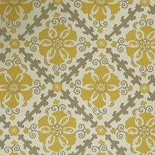 Lemon Zest Global Decorator Fabric by Trend