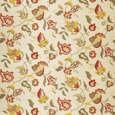 Lemon Zest Floral Decorator Fabric by Trend