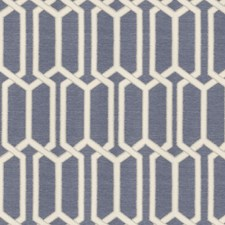 Cobalt Geometric Decorator Fabric by Fabricut