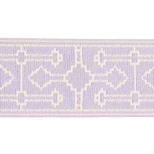 Lilac Trim by Schumacher