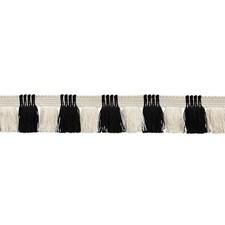 Black/amp/Ivory Trim by Schumacher