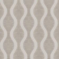 Nickel Geometric Decorator Fabric by Trend