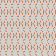Tangerine Embroidery Decorator Fabric by Fabricut