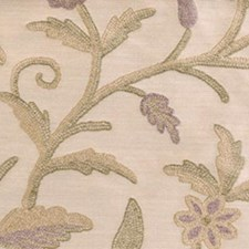 Purple/sage Decorator Fabric by Highland Court