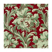 Rouge Tropical Decorator Fabric by Brunschwig & Fils