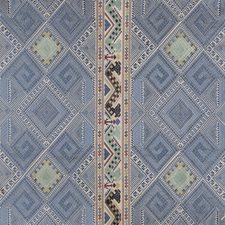 Blue/Red/Sea Decorator Fabric by Brunschwig & Fils