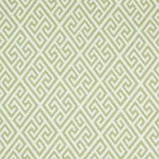 Kiwi Geometric Decorator Fabric by Brunschwig & Fils