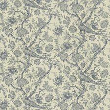 Indigo Toile Decorator Fabric by Brunschwig & Fils
