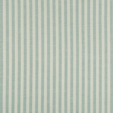 Aqua Stripes Decorator Fabric by Brunschwig & Fils