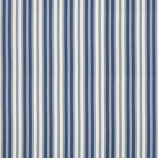 Blue Stripes Decorator Fabric by Brunschwig & Fils