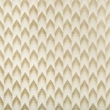 Sand Geometric Decorator Fabric by Brunschwig & Fils