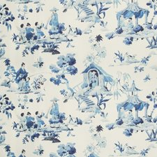 Porcelain Asian Decorator Fabric by Brunschwig & Fils