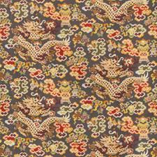 Grey Asian Decorator Fabric by Brunschwig & Fils