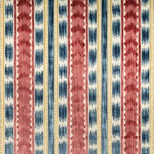 Red Ikat Decorator Fabric by Brunschwig & Fils