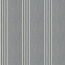 Denim Stripes Decorator Fabric by Stroheim