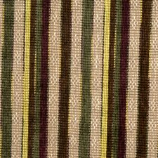 Pistachio Stripes Decorator Fabric by S. Harris