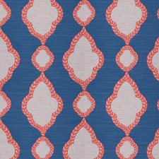 Coral Diamond Decorator Fabric by Stroheim