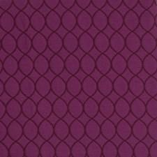 Heliotrope Lattice Decorator Fabric by S. Harris