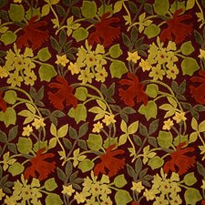Carnival Floral Decorator Fabric by S. Harris