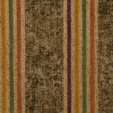 Amber Glow Stripes Decorator Fabric by S. Harris