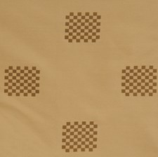 Mocha Check Decorator Fabric by S. Harris