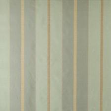 Aquatone Stripes Decorator Fabric by S. Harris
