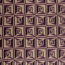 Plum Contemporary Decorator Fabric by S. Harris