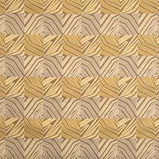 Warm Taupe Geometric Decorator Fabric by S. Harris