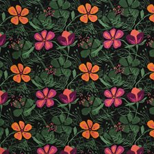 Festival Floral Decorator Fabric by S. Harris