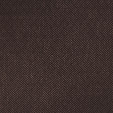 Espresso Herringbone Decorator Fabric by S. Harris